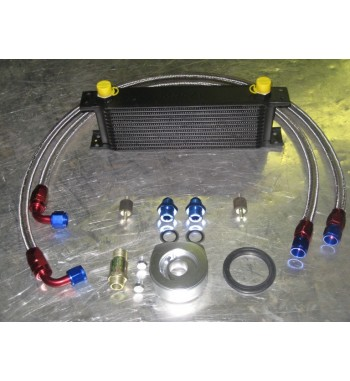 Kit MOCAL 13 Filas + racores Aluminio + latiguillos Inox + Sandwich Forjado CNC