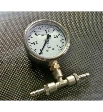 Manómetro de Presión de Gasolina 0 a 1bar