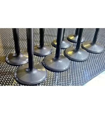 Válvulas R5 Gtt  sobremedida 37.3 y 31.3mm Forjadas Ni