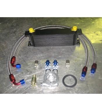 Kit MOCAL 13 filas + Termostato MOCAL + Racores Aluminio + Latiguillos Inox
